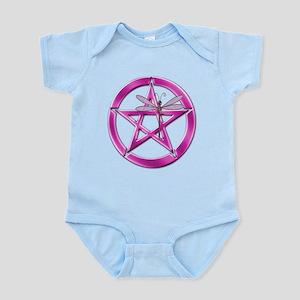 Pink Pentacle Dragonfly Infant Bodysuit