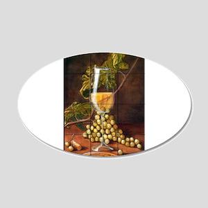Best Seller Grape 20x12 Oval Wall Decal