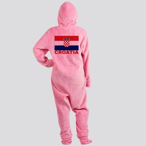 croatia_b Footed Pajamas