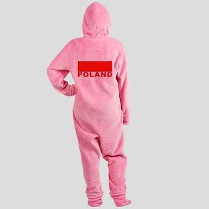 poland_b Footed Pajamas