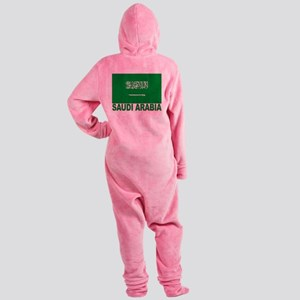 saudi-arabia_b Footed Pajamas