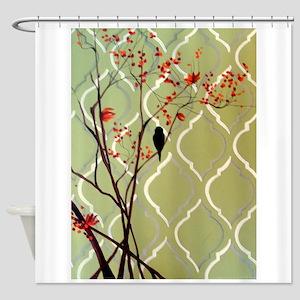 Quick Respite Shower Curtain