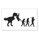 Dino Evolution Sticker (Rectangle 10 pk)