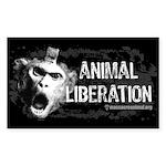 animal-liberation-sticke Sticker (Rectangle 10 pk)