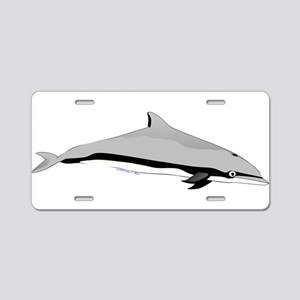 Frasers Striped Dolphin Aluminum License Plate