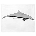 Frasers Striped Dolphin King Duvet