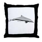Frasers Striped Dolphin Throw Pillow