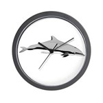 Frasers Striped Dolphin Wall Clock