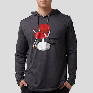 Best Seat Mens Hooded Shirt