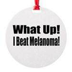 melanoma17.png Round Ornament