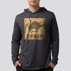 Spain Mens Hooded Shirt