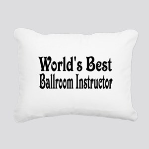 ballroom11 Rectangular Canvas Pillow