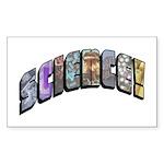 science2 Sticker (Rectangle 10 pk)