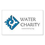 WC LOGO Centered Sticker Sticker (Rectangle 10 pk)