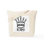 King Symbol Tote Bag