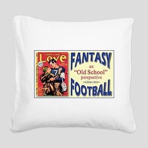 FANTASY FOOTBALL 1933 Square Canvas Pillow