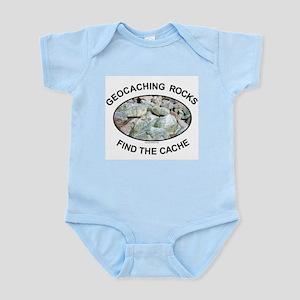 Geocaching Rocks Infant Creeper