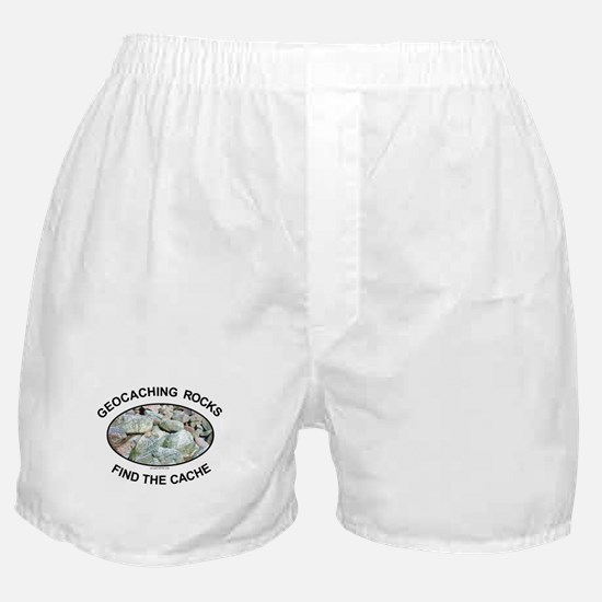 Geocaching Rocks Boxer Shorts