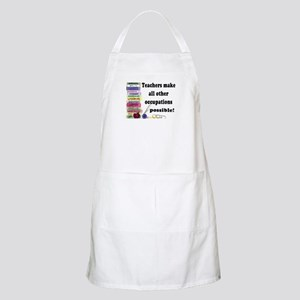 """Teacher Occupations"" BBQ Apron"