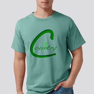 Country Handwritten Gree Mens Comfort Colors Shirt
