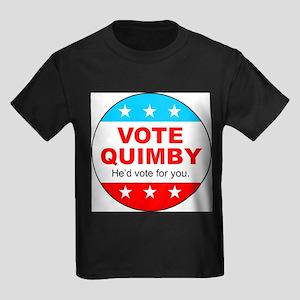 Vote Quimby Kids Dark T-Shirt