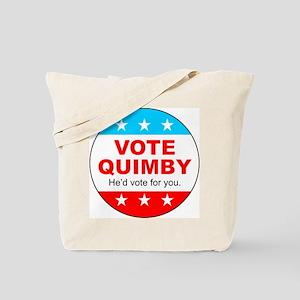 Vote Quimby Tote Bag