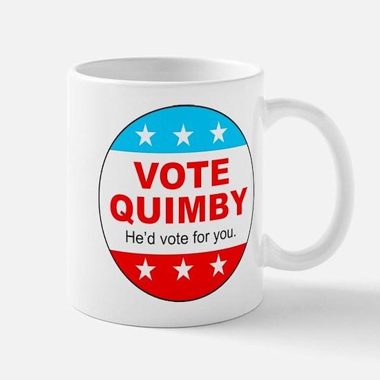 Vote Quimby Mug