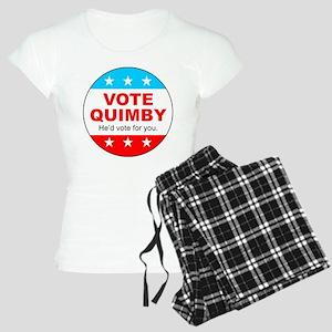 Vote Quimby Women's Light Pajamas