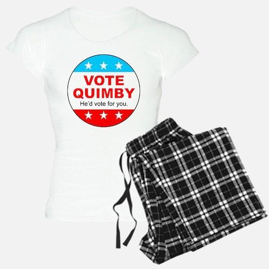 Vote Quimby Pajamas