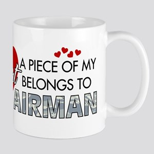 Piece of my heart Airman Mug