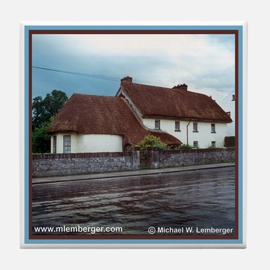 Thatched Roof Tile Coaster