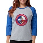 Texas Masons. A Band of Brothe Womens Baseball Tee