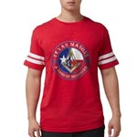 Texas Masons. A Band of Brothe Mens Football Shirt