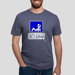 eat pussy Mens Tri-blend T-Shirt