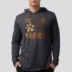 90th Birthday Dog Years Mens Hooded Shirt