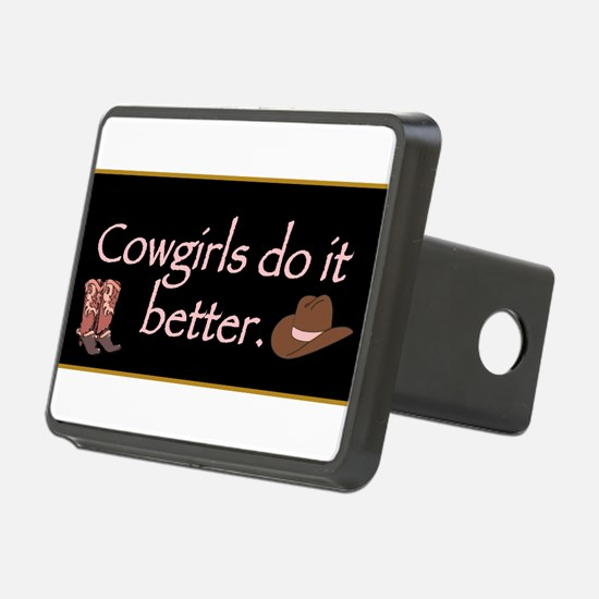 Cowgirls Do It Better. Hitch Cover