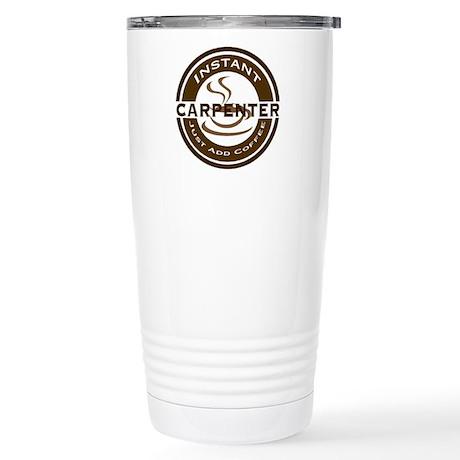 Instant Carpenter Coffee Stainless Steel Travel Mu