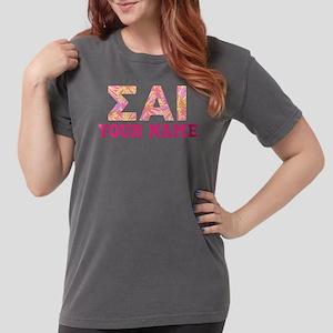 Sigma Alpha Iota Pink Womens Comfort Colors Shirt