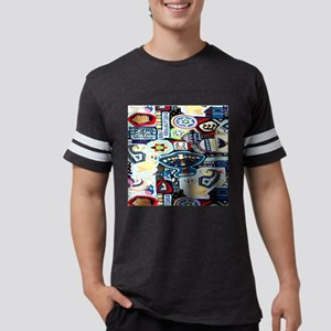 a ch collage 2 Mens Football Shirt