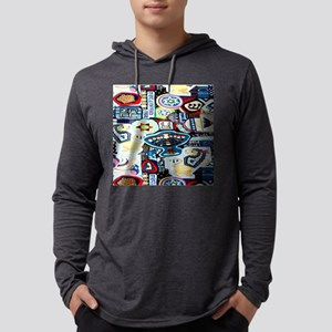 a ch collage 2 Mens Hooded Shirt