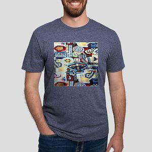 a ch collage 2 Mens Tri-blend T-Shirt