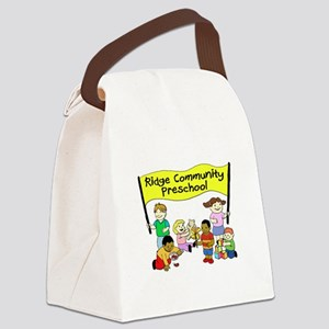 Ridge Community Preschool Canvas Lunch Bag
