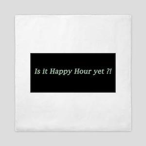 Is it Happy Hour yet? Queen Duvet