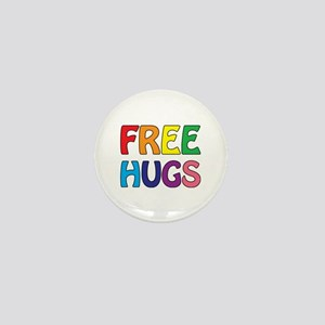 Free Hugs Mini Button