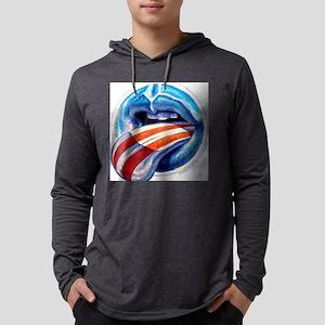 Oblahma Obama Logo Mens Hooded Shirt