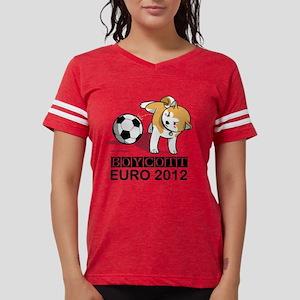 Boycott Euro 2012 Womens Football Shirt