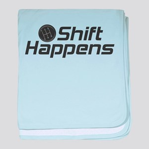 Shift Happens baby blanket