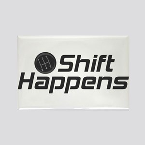 Shift Happens Rectangle Magnet