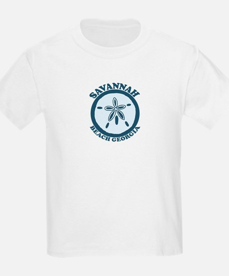 Savannah Beach GA - Sand Dollar Design. T-Shirt