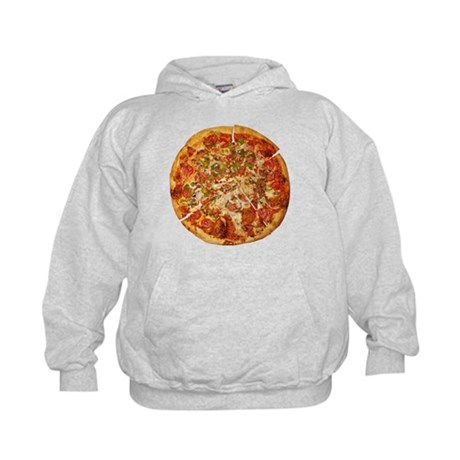 Thank God for Pizza Kids Hoodie